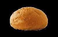 خبز ارتيزان أسمر دائري (سادة)