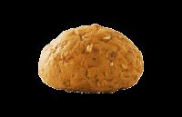 خبز ارتيزان أسمر سادة (دائري)