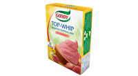 Topping Cream - Strawberry Flavor